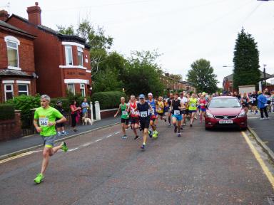 Hatters Half Marathon Runners